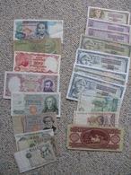 Banknotes , Bankbiljetten 38 Pieces / Stuks - Non Classés