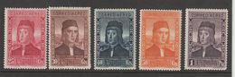 Spanje 1930 Mi.nr. 523-527  MNH - Nuevos