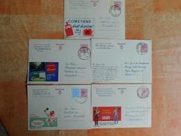 Lot De 5 Entiers Postaux Publibel   (A8) - Stamped Stationery
