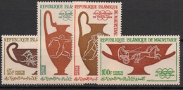 Mauritanie - 1964 - Poste Aérienne PA N°Yv. 40 à 43 - Olympics / Tokyo 64 - Neuf Luxe ** / MNH / Postfrisch - Verano 1964: Tokio