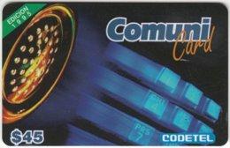DOMINICAN REP. A-028 Prepaid Codetel - Used - Dominicana