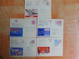 Lot De 5 Entiers Postaux Publibel   (A8) - Publibels