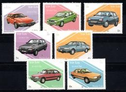 Laos 1987  MI.NR. 1010-1016 Autos  MNH / POSTFRIS / NEUF SANS CHARNIERE - Laos