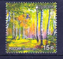 1.- RUSSIA 2011 EUROPA 2011 FORESTS - 1992-.... Federación