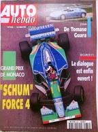 CA029 Autozeitschrift Auto Hebdo, Nr. 932, 1994, Französisch - Auto/Motorrad