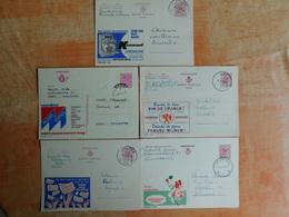 Lot De 5 Entiers Postaux Publibel   (B8) - Stamped Stationery
