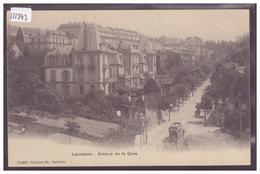 LAUSANNE - AVENUE DE LA GARE - TRAMWAY - TB - VD Vaud