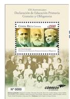 MNH SHEET COSTA RICA,2019 Education Women 150 Anniversary Education Free - Costa Rica