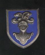 Insigne EAABC Saumur - Ecole D' Application De L' Arme Blindée Cavalerie - Drago Olivier Metra - Déposé - France