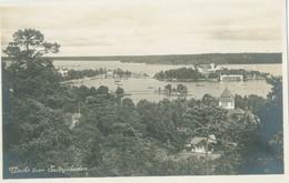 Stockholms Län; Utsikt över Saltsjöbaden - Not Circulated. (Harold Olsen - Stockholm) - Zweden