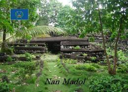 Micronesia Pohnpei Nan Madol UNESCO New Postcard Mikronesien AK - Micronesië