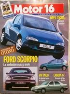 CA035 Autozeitschrift Motor 16, Ausgabe 565, 1994, Spanisch - [3] 1991-Hoy