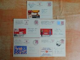 Lot De 5 Entiers Postaux Publibel   (C8) - Stamped Stationery