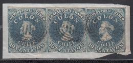 1856-66  Yvert Nº 6, - Chile