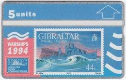 GIBRALTAR A-080 Hologram GNC - Collection, Stamp - 409A - MINT - Gibraltar