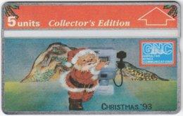 GIBRALTAR A-087 Hologram GNC - Occasion, Christmas - 310L - MINT - Gibraltar