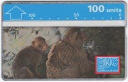 GIBRALTAR A-089 Hologram GNC - Animal, Monkey - 230A - Used - Gibraltar