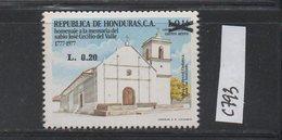 Honduras 1990 MNH Scott C793 Surcharge José Cecilio Del Valle Church - Honduras