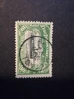 N° 29 Congo Belge 10 Francs Vert Bateau Obl. Matadi - Beau - Belgisch-Kongo