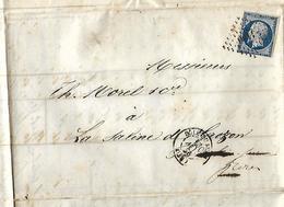 Bordereau Double 1856 / Houille Du Soteau Samuel  / Envoi 1621 Hl De Charbon à MOREL & Cie 39 La SALINE De GROZON - France