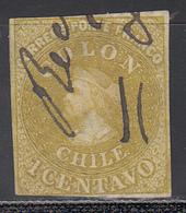 1861-67  Yvert Nº 7 - Chile