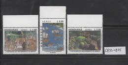 Honduras 1987 MNH Scott C753-C754 I Anniversary Democratic Governament - Honduras