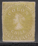 1861-67  Yvert Nº 7 (*) - Chile