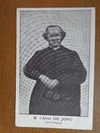 M. L'Abbé De Jong, Curé De Dampremy --> Onbeschreven - Charleroi