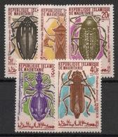 Mauritanie - 1970 - N°Yv. 276 à 280 - Insectes - Neuf Luxe ** / MNH / Postfrisch - Mauretanien (1960-...)