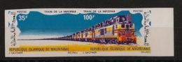 Mauritanie - 1971 - N°Yv. 296A - Train - Non Dentelés / Imperf. - Neuf Luxe ** / MNH / Postfrisch - Eisenbahnen