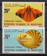 Mauritanie - 1972 - N°Yv. 302 à 303 - Coquillages - Neuf Luxe ** / MNH / Postfrisch - Mauretanien (1960-...)