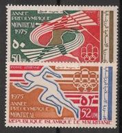 Mauritanie - 1975 - Poste Aérienne PA N°Yv. 159 à 160 - Olympics / Montreal 76 - Neuf Luxe ** / MNH / Postfrisch - Mauretanien (1960-...)