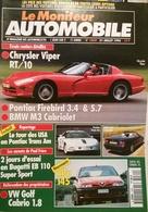 CA046 Autozeitschrift Le Moniteur Automobile, Nr. 1060, 1994, Französisch - Auto/Motorrad