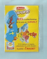 Magnet Brossard Collection Carte Asie  CHINE - Tourisme