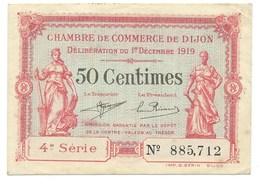 50 CENTIMES / CHAMBRE DE COMMERCE DE DIJON 4° SERIE - Chambre De Commerce