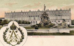 "ALLEMAGNE -- ''Schloss HERRENCHIEMSEE"".-.Original-Eigentum Gebr.Metz,Tübingen. - Deutschland"