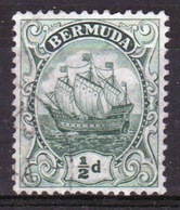 Bermuda ½d Stamp From The 1910 Definitive Set. - Bermuda