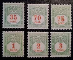 Luxemburg - Portzegels 1922/35 - Postage Due