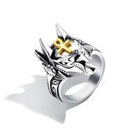 Bague Acier Inoxydable Mythe Anubis - Rings