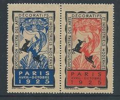 Vignette EXPOSITION ARTS DECO PARIS 1925** - Erinnofilia