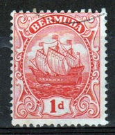 Bermuda 1d Stamp From The 1910 Definitive Set. - Bermuda