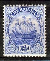 Bermuda 2½d Stamp From The 1910 Definitive Set. - Bermuda