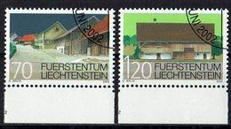 Liechtenstein 2002 # Mi. 1294/1295 O - Liechtenstein