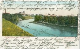 Landskrona 1901 (Skåne Län); Slottsparken Och Wallgrafven - Circulated. (Förlag ?) - Zweden