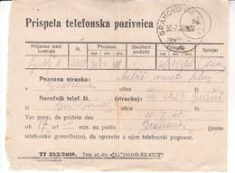 4185  -STEMPEL GRAHOVO  OB BAČI - Slovenia