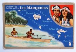 C.P.A. : Colonies Françaises, LES MARQUISES, édition Lion Noir - French Polynesia
