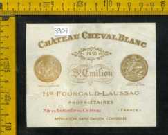 Etichetta Vino Liquore Cheval Blanc St. Emilion-Francia - Etiquettes
