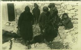ALBANIA - TIRANA - OCCUPAZIONE FASCISTA - NATIVI - RPPC POSTCARD 1941 (BG3297) - Albanië