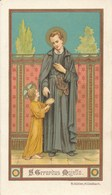 Image Pieuse - Religieuse - S. Gerardus - Saint-Gérard - Images Religieuses