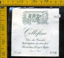 Etichetta Vino Liquore Collefino Dessilani L. - Fara Novarese (difetto) - Autres